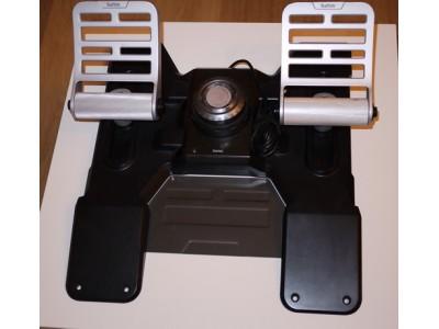 Обзор педалей Saitek Combat Rudder Pedals
