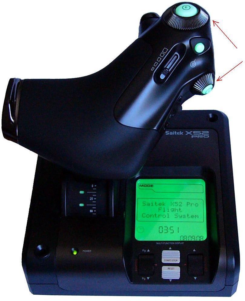 Обзор Saitek X52 Pro